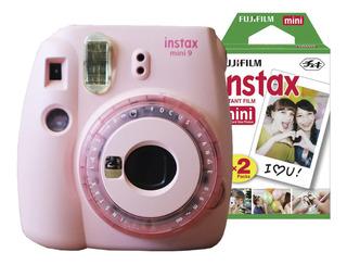 Cámara Instax Mini 9 Celeste + 20 Film