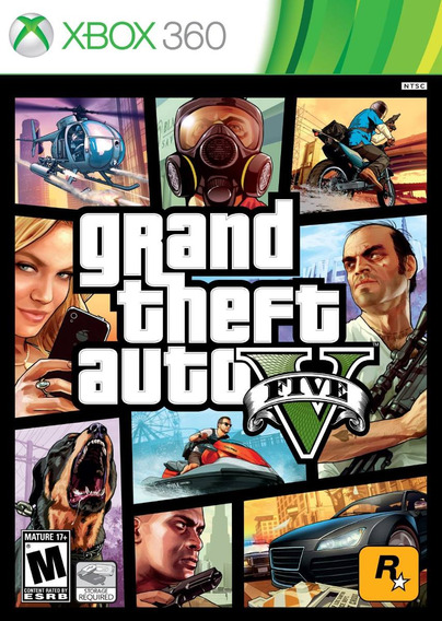 Gta V Grand Theft Auto 5 - Xbox 360 | Garantia Playgorila