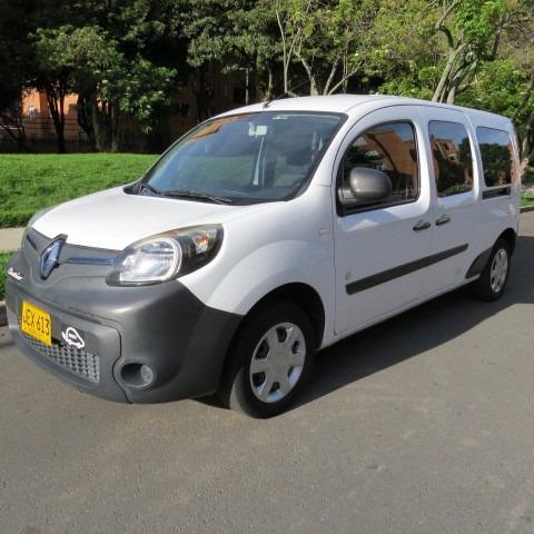 Renault Kangoo Ze 100% Eléctrica 2015 Blanca 6 Puertas