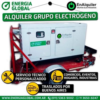 Alquiler De Grupos Electrógenos Generadores De 60 !!! -kva