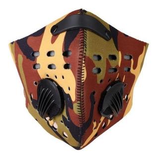 Máscara Anticontaminación Y De Entrenamiento Simula Altitud