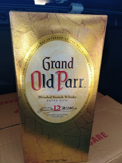 Whisky Old Parr 12 Años 0,75 Lts Caja