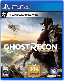 Tom Clancys Ghost Recon Wildlands / Juego Físico / Ps4