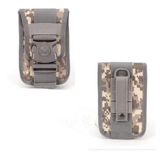 Funda Cartera Estuche Tarjetero Para Celular Cinturón Mochila Broche Molle Resistente Antirrobo Huawei Samsung iPhone