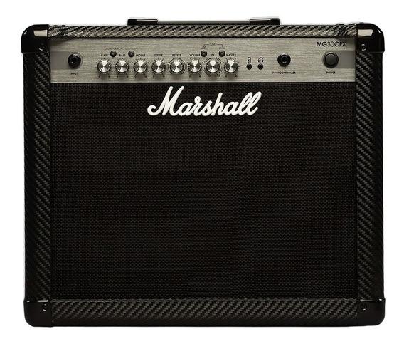 Amplificador De Guitarra Marshall Mg30cfx Efectos 30w