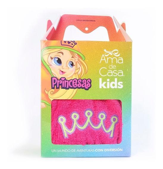 Bata De Baño Ama De Casa Diseño Princesas - Para Niñas