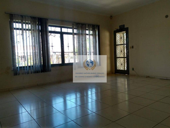 Casa Com 3 Dormitórios Para Alugar, 200 M² Por R$ 3.500/mês - Jardim Nossa Senhora Auxiliadora - Campinas/sp - Ca1071