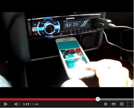 Adaptador Receptor Bluetooth Áudio Usb P2 Auxiliar Som Celul