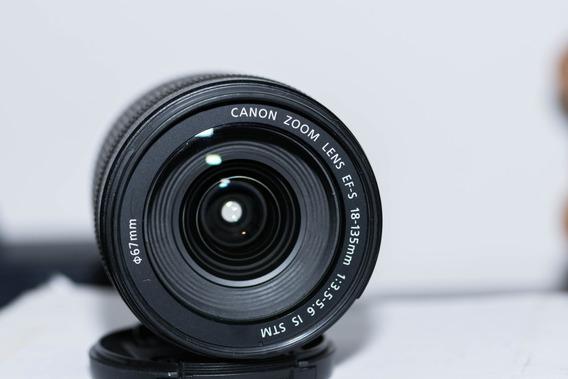 Lente Canon 18-135 Stm