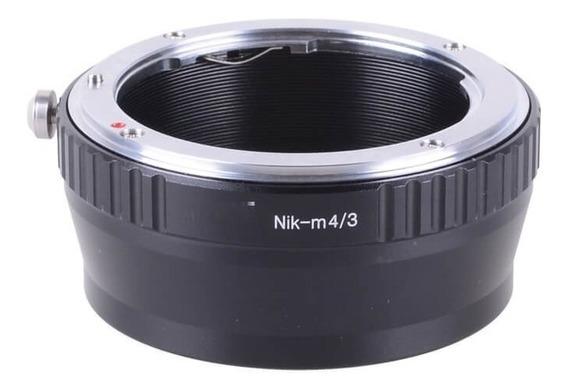 Adaptador De Lente Nikon Ai Para Câmeras Blackmagic M4/3 (nik-m4/3) Worldview