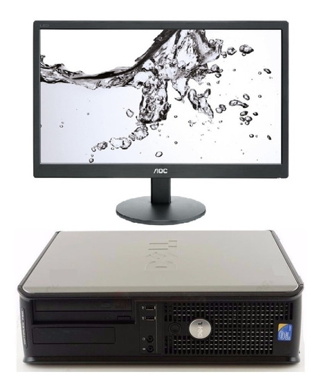Computador Dell Core 2 Duo 2,9ghz 4gb Ram + Monitor 19 Led