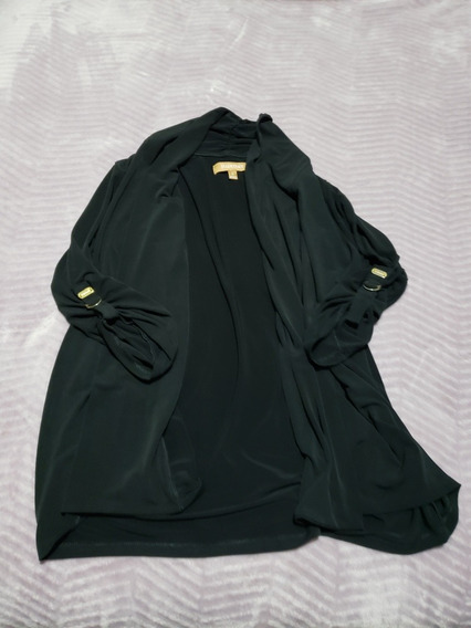 Blazer Negro Marca Ellen Tracy Original