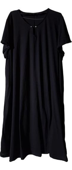 Vestidos Algodon Corte Evasee Con Bolsillos T 7 Al 14