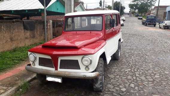Ford Rural, Ano 64, 4x4