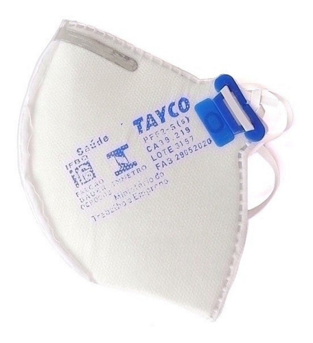 Mascara Respiratória De Proteção Pff2 Sem Válvula N95