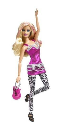 Barbie Fashionista - Pink Doll 2010