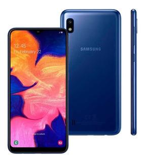 Celular Samsung Galaxy A10 Dual 32gb 2gb Ram A105 Azul Nfe
