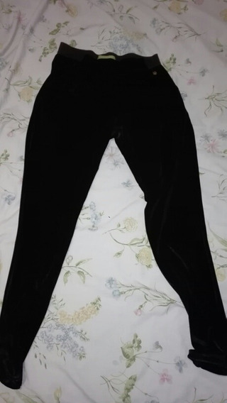 Pantalón Rapsodia Mujer Tipo Calza Brilloso Elastizado