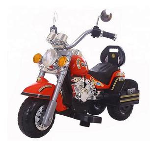 Moto Tipo Shopper A Batería 5v Para Niños Musical Con Luz