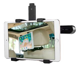 Soporte Tablet Y iPad Para Respaldo Asiento Auto Ajustable