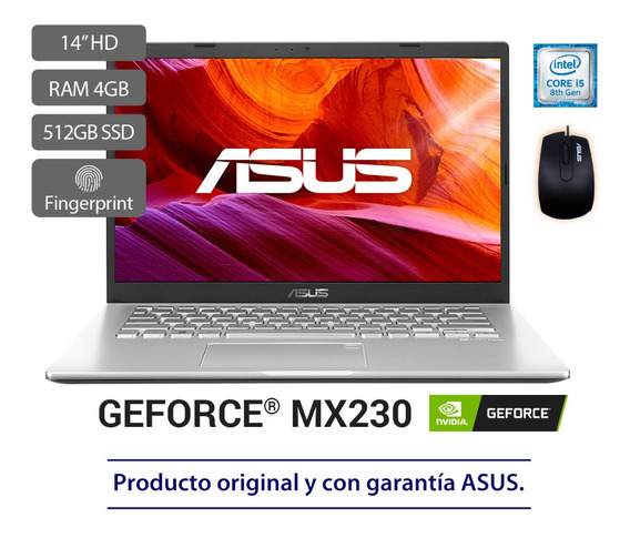 Portátil Asus X409fj Intel Core I5, Ssd 512gb, 14 Pulgadas