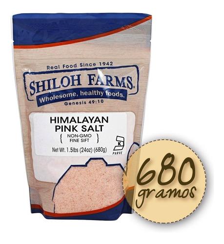Sal Rosada Del Himalaya 100% Pura