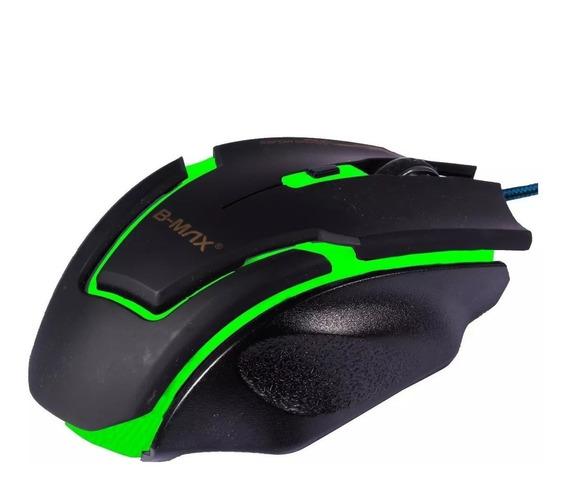 Mouse Gamer Profissional B-max A9 Gaming 3200 Dpi 6 Botões
