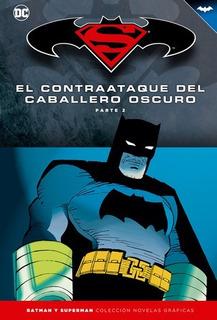 Colección Novelas Salvat Tapas Duras Batman Y Superman Num10