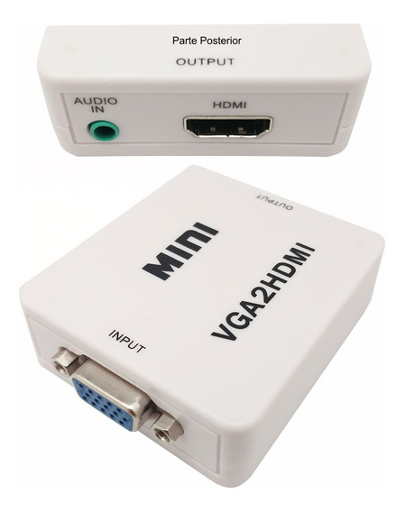 Conversor De Video Vga + Audio A Hdmi Nm-hd2