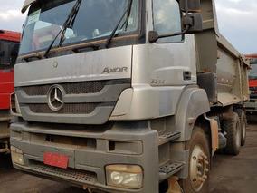 Mercedes-bens Axor 3344 K 6x4 Ano 2014/2014 Caçamba