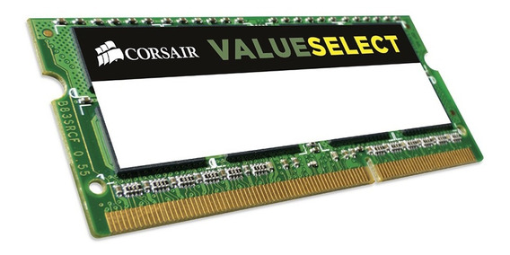 Memoria Ram Notebook 8gb Corsair Value Ddr3 1600mhz Cuotas
