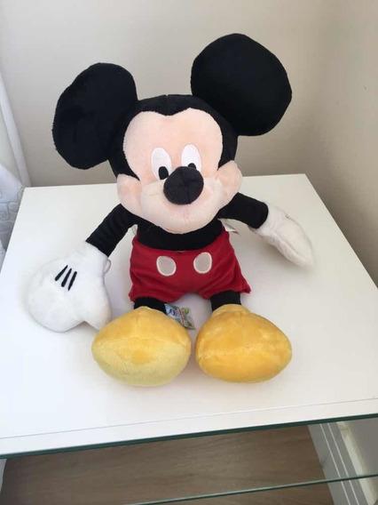 Pelúcia Da Disney Mickey Mouse Original 45 Cm