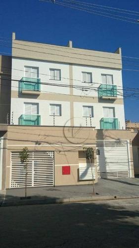 Apartamento Com 2 Dormitórios À Venda, 55 M² Por R$ 260.000,00 - Vila Pires - Santo André/sp - Ap10254