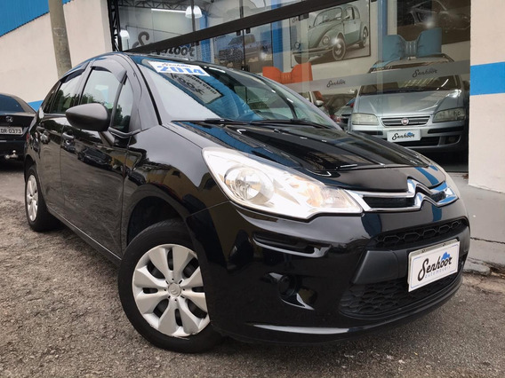 Citroen C3 Origine 1.5 Manual Completo Preta - 2014
