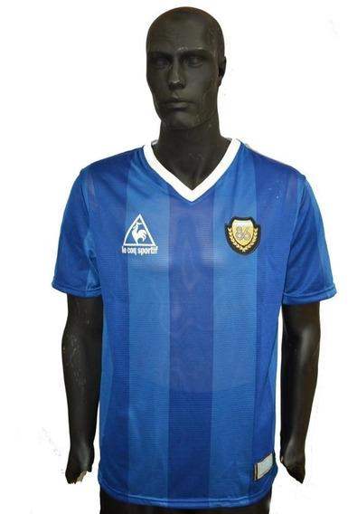 Camiseta Argentina Maradona Lecoq Mexico 86 Envio Gratis