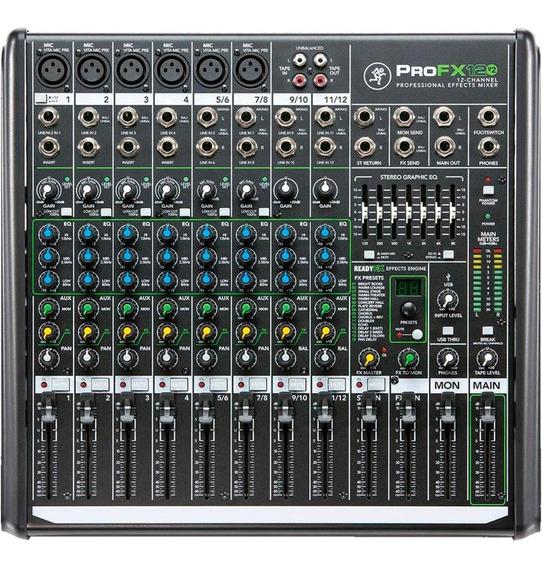 Mesa De Som Mackie 12 Canais Profx12v2 Pro Fx12 V2