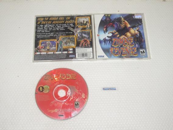 Zombie Revenge Original Americano Completo Dreamcast Raro