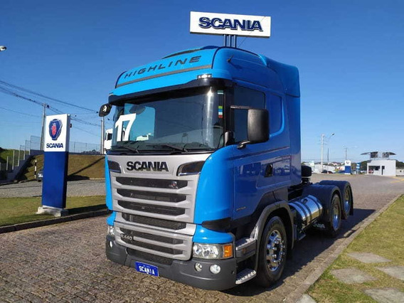 Scania R 440 Highline, 6x2, 2017 Scania Seminovos Pr