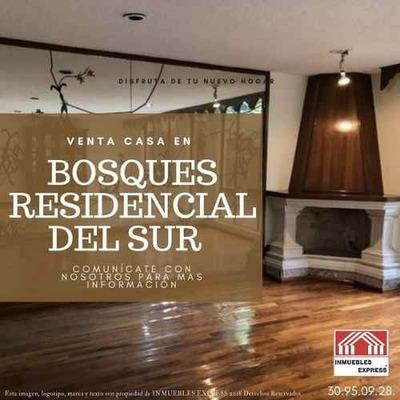Casa En Venta Xochimilco En Colonia Bosque Residencial Del Sur