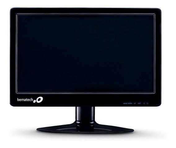 "Monitor Bematech LM-15 LED 15.6"" preto 110V/220V"