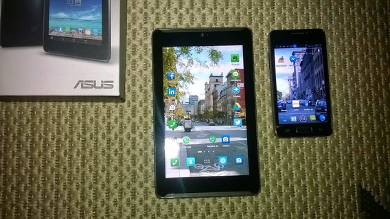 Tablet Asus Fonepad 7 Intel 8gb 3g - Faz E Recebe Ligações