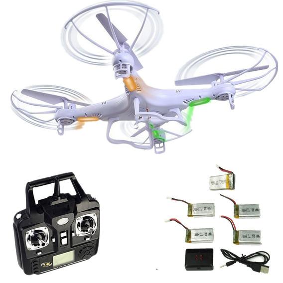 Drone Syma X5c Com Câmera - Com 5 Baterias - Pronta Entrega