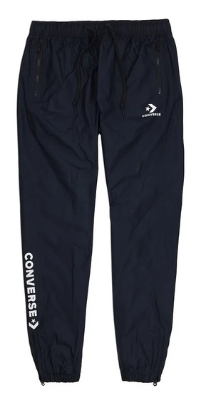 Pantalon Converse Pantalon Converse Woven Shell Black - 1000