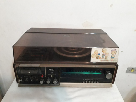 Antigo Três Em Um Sony Modelo Hp179b R