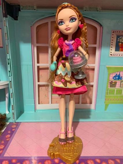 Ever After High Holly Ohair Sugar Coated Coberta De Doce