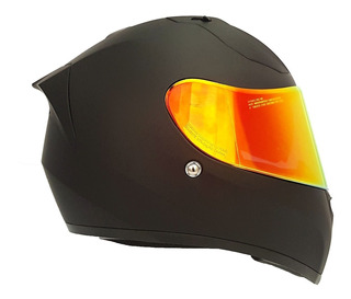 Casco Joe Rocket Rkt 14 Ion Ece22.05 Negro Mate 2 Micas Mh&s