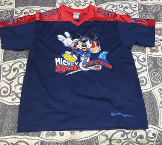 Playera Mickey Mouse Jersey Fútbol Americano
