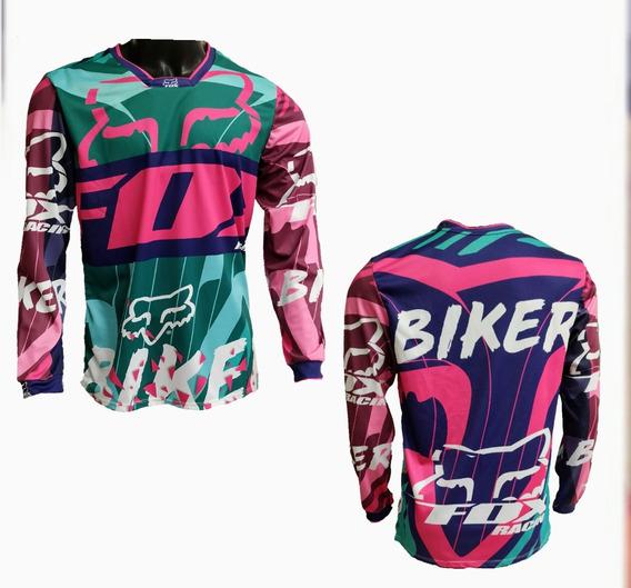 Jersey Buzo Ciclismo Montaña Motocross Bicicross