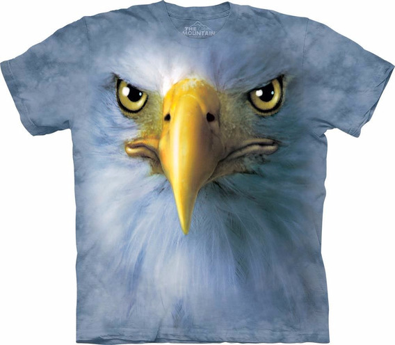 Playera 4d - Unisex 10-3438 Eagle Face