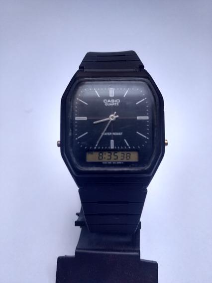 Relógio Casio Anadigi Aq 8w Original